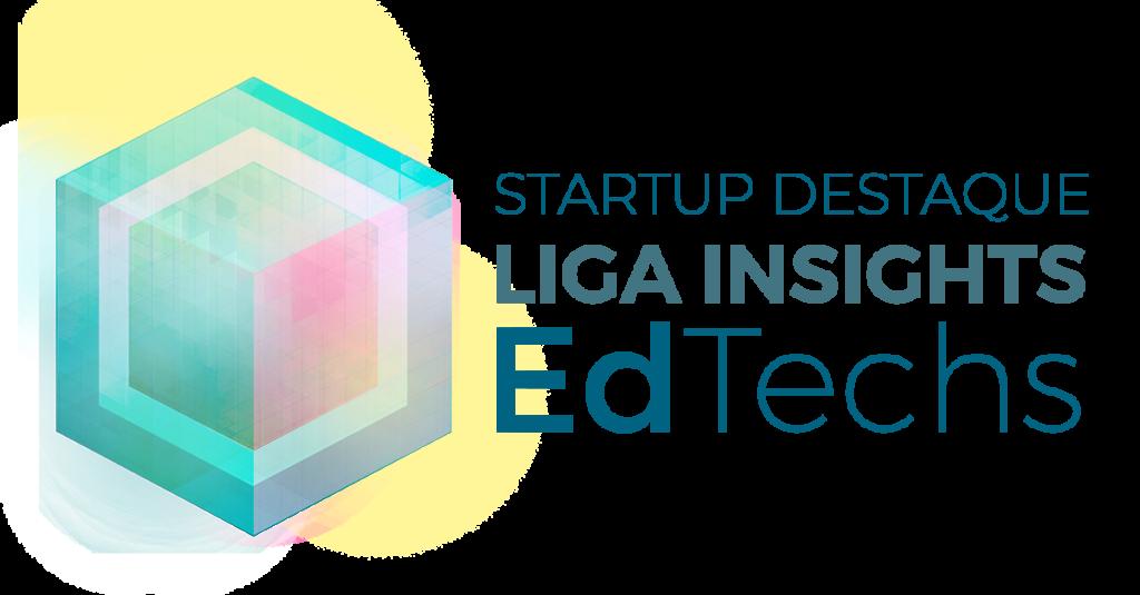 Selo da Liga Insights edtech destaque