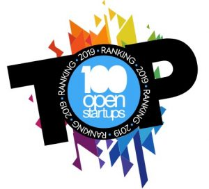 Selo 100 Open Startups 2018