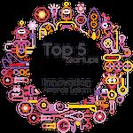 Selo TOP5 Innpovation Awards Latram 2018